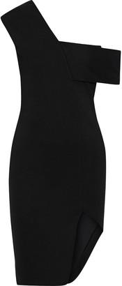Mason by Michelle Mason Asymmetric Off-the-shoulder Ponte Dress