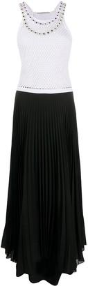 Christopher Kane Crystal-Embellished Mesh Dress