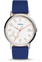 Fossil Vintage Muse Indigo-Dyed Leather Watch