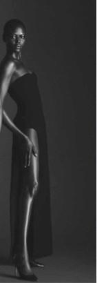 Mônot Slit Cotton-Blend Crepe Maxi Tube Dress
