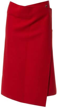 Celine Red Wool Skirts