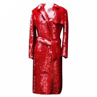 Christian Lacroix Red Coat for Women Vintage