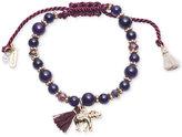 lonna & lilly Beaded Charm Slider Bracelet