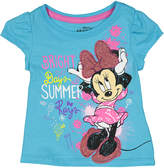 Children's Apparel Network Blue Minnie Mouse 'Bright Days' Tee - Toddler