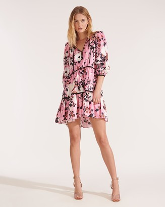 Veronica Beard Hawken Mod-Floral Dress