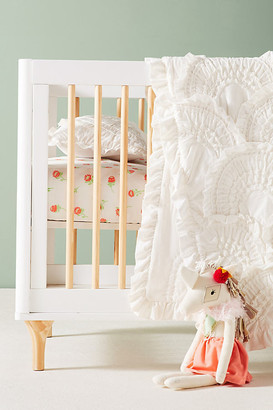 Anthropologie Rivulets Toddler Quilt By in White Size ALL