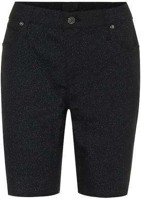 RtA Toure stretch-denim skinny shorts