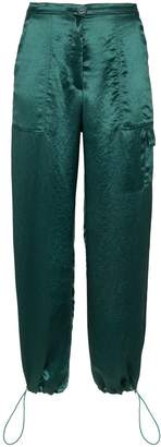 Collina Strada satin cargo trousers