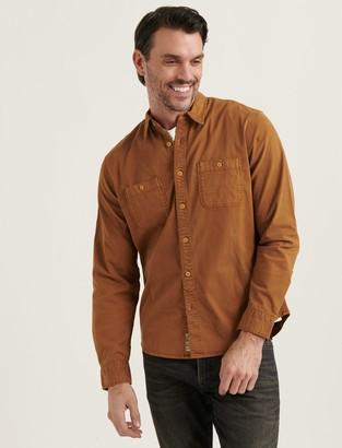 Lucky Brand Tencel Mason Workwear Shirt