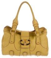 Valentino Leather Catch Shoulder Bag