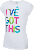 adidas I've Got This Graphic-Print T-Shirt, Toddler & Little Girls (2T-6X)