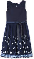 Speechless Illusion Stars Dress, Big Girls (7-16)