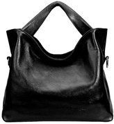 PASTE Women's Wrist Genuine Leather Totes/Shoulder Bag,Handbag