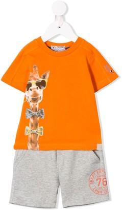 Lapin House Giraffe Printed Two-Piece Set