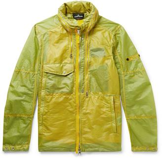 Stone Island Shadow Project Garment-Dyed Shell Field Jacket