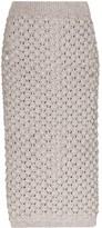 Vika Gazinskaya mid-length knit skirt