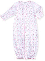 Kissy Kissy Autumn Breeze Convertible Pima Gown, Size Newborn-Small