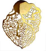 Eina Ahluwalia Heart of Gold Brooch + Pendant