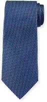 Armani Collezioni Neat Diamond-Box Printed Silk Tie