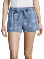 Splendid Chambray Jacquard Shorts