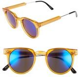 Spitfire Women's 46Mm Optical Glasses - Orange/ Blue Mirror