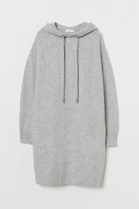H&M Knit Hooded Dress
