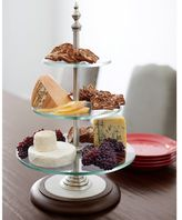 Pottery Barn Plaza Tiered Entertaining Stand
