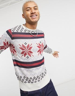 Le Breve Christmas sweater in fairisle