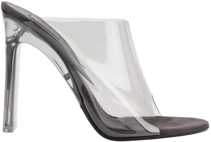 Yeezy Transparent Grey Mules