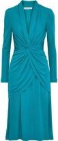 Diane von Furstenberg Stacia Twist-front Layered Jersey Dress