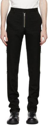 TAKAHIROMIYASHITA TheSoloist. Black Patch Pocket Trousers