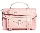 Proenza Schouler 'PS1' medium metallic crinkled leather satchel