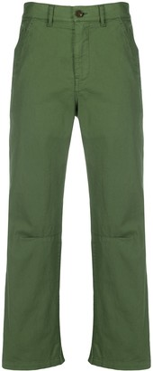 Barena Straight-Leg Cropped Trousers