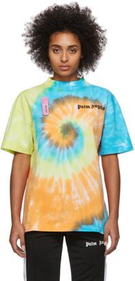 Palm Angels Mutlicolor Tie-Dye New Basic T-Shirt
