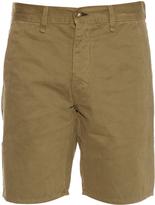 RAG & BONE Loose-fit brushed-cotton shorts
