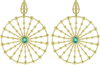 Carla Amorim Emerald Sempre Viva Maior Earrings