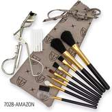3 Swords - 14 Piece Pro Eye Make-Up Set with a Eyelash Curler, 8-piece cosmetic brush set and 5 spare rubber pieces, Quality: 3 Swords