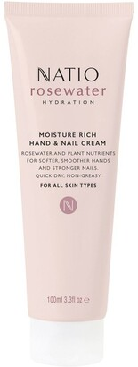 Natio Rosewater Hydration Moisture Rich Hand & Nail Cream