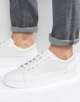 Armani Jeans Leather Premuim Trainers