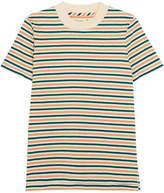 Madewell Striped Cotton T-shirt - Green