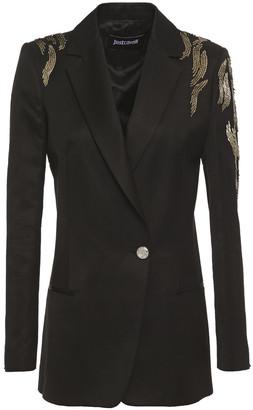 Just Cavalli Embellished Twill Blazer