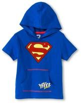 Superman Toddler Boys' Hooded Costume Tee Shirt