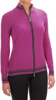 Neve Emma Wool Cardigan Sweater - Full Zip (For Women)