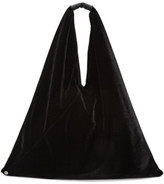 MM6 MAISON MARGIELA Black Velvet Tote