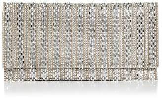 Aqua Megan Crystal Beaded Clutch - 100% Exclusive