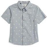 Billabong Boy's Marker Short Sleeve Woven Shirt