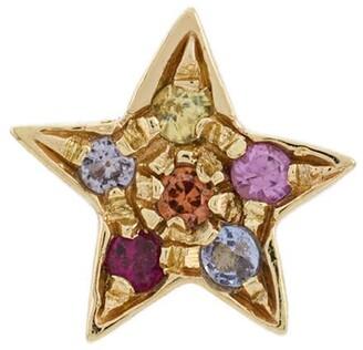 Carolina Bucci 18kt Gold Star Stones Earring