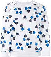 MAISON KITSUNÉ patterned knitted top - women - Cotton - S