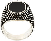 Andrea D'Amico patterned round ring