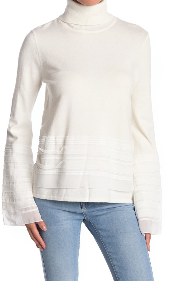 Cyrus Turtleneck Bell Sleeve Sweater